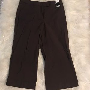 New York & Co Brown Cropped Pants